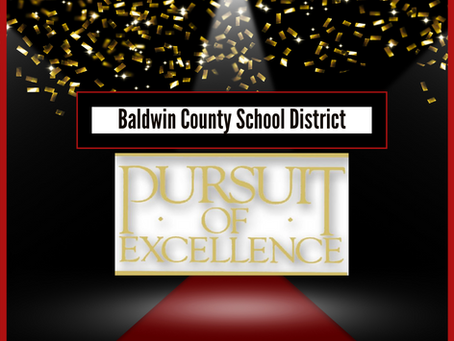 BCSD January's Pursuit of Excellence Winners