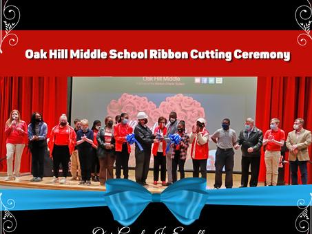 Oak Hill Middle School Ribbon Cutting Ceremony
