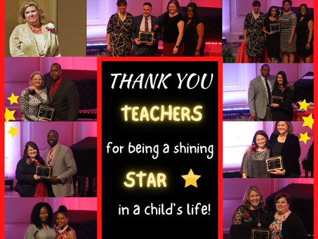 Teachers are Shining Stars in a Child's Life