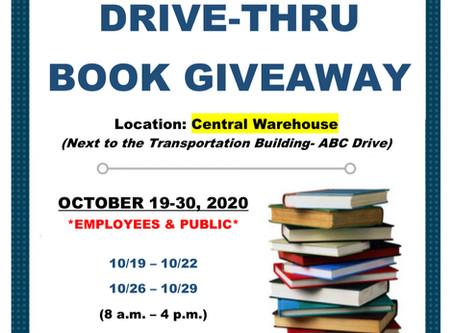 BCSD Hosts Outdoor Drive-Thru Book Giveaway