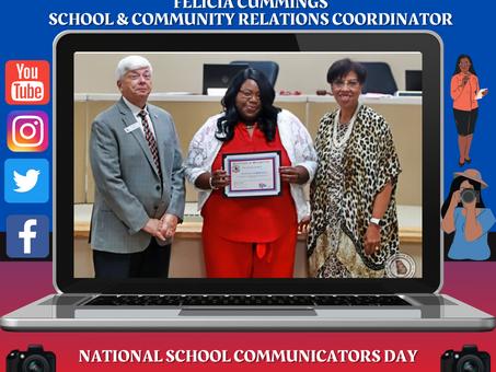 BCSD Celebrates National School Communicators Day