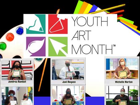 BCSD Celebrates Youth Art Month