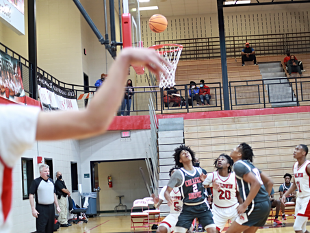 Baldwin Braves Basketball Team Score Second Win in Class 4A State Tournament