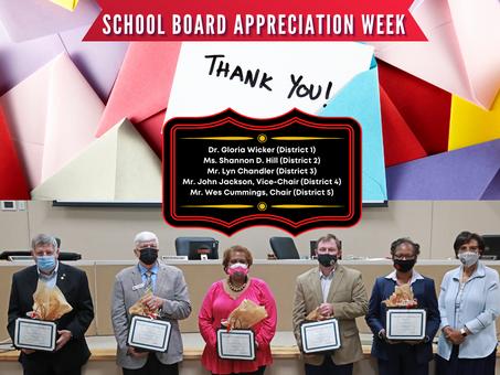 BCSD Celebrates Local School Board Members