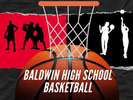 BHS Basketball Season Begins December 1st               Baldwin Braves VS Putnam War Eagles