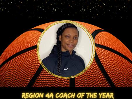Bravettes Basketball Coach Kizzi Walker Named Region 4A Coach of the Year