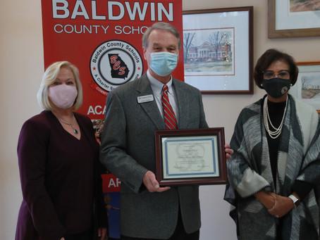Georgia School Boards Association Partnership Commendation Awards