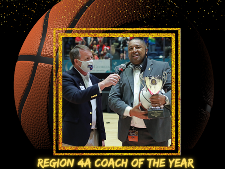 Braves Basketball Coach Anthony Webb Named Region 4A Coach of the Year