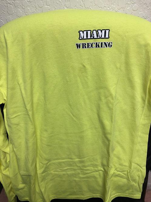 Miami Wrecking long sleeve shirt