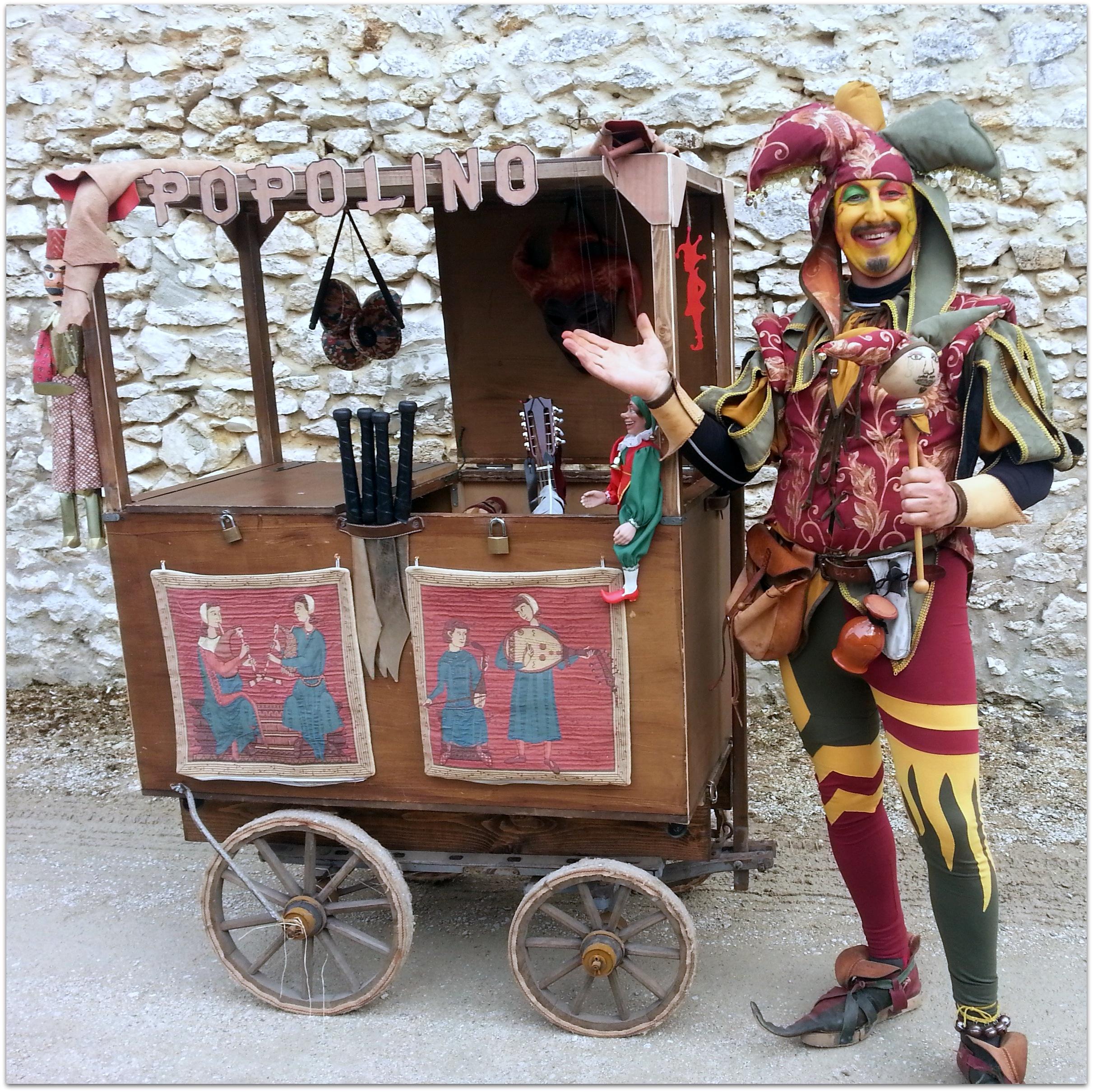 Popolino+chariot