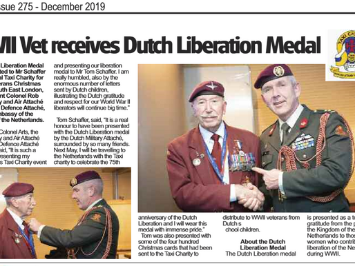 WWII vet receives Dutch Liberation Medal, The Badge
