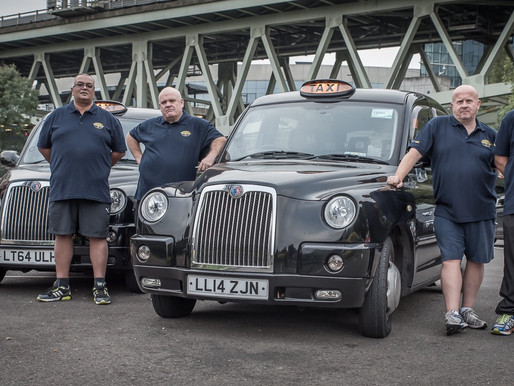 Press Release: Five London cabbies pledge to lose over 25 stone and climb Kilimanjaro for Taxi Chari