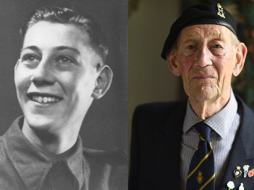 WWII veteran Geoff Pulzer has passed away, aged 97