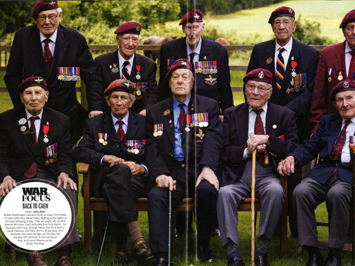 Taxi Charity and its veterans featured in History of War magazine