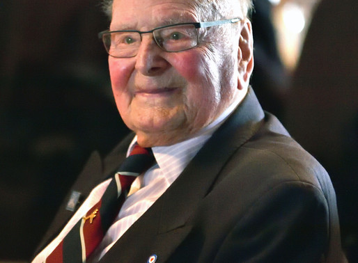 WWII veteran George Dunn interviewed on BBC Radio Sussex for anniversary of Battle of Britain