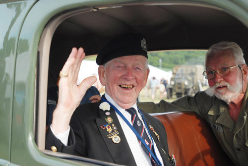 Wonderful photos of our veterans at the Chalke Valley History Festival