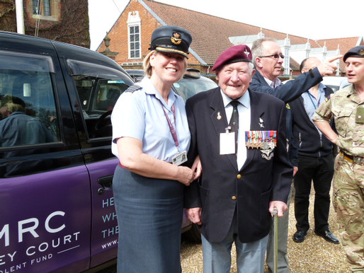 Taxi Charity attends official launch of DMRC Benevolent Fund at Headley Court