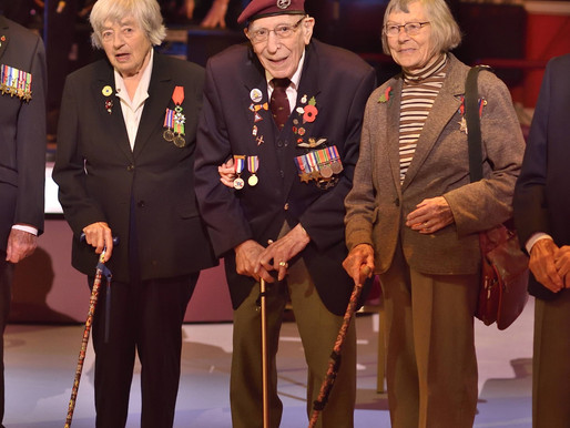 Thank you from the Glider Pilot Regiment Society for escorting Frank Ashleigh to Royal Albert Hall