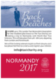 Back To The Beaches flyer