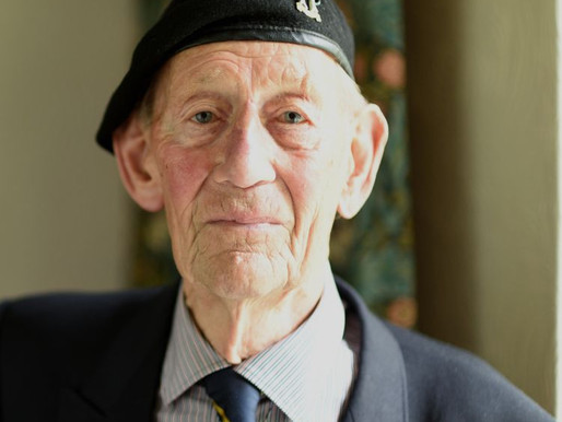 WWII veteran Geoff Pulzer interviewed by Dermot Murnaghan for Sky News Podcast