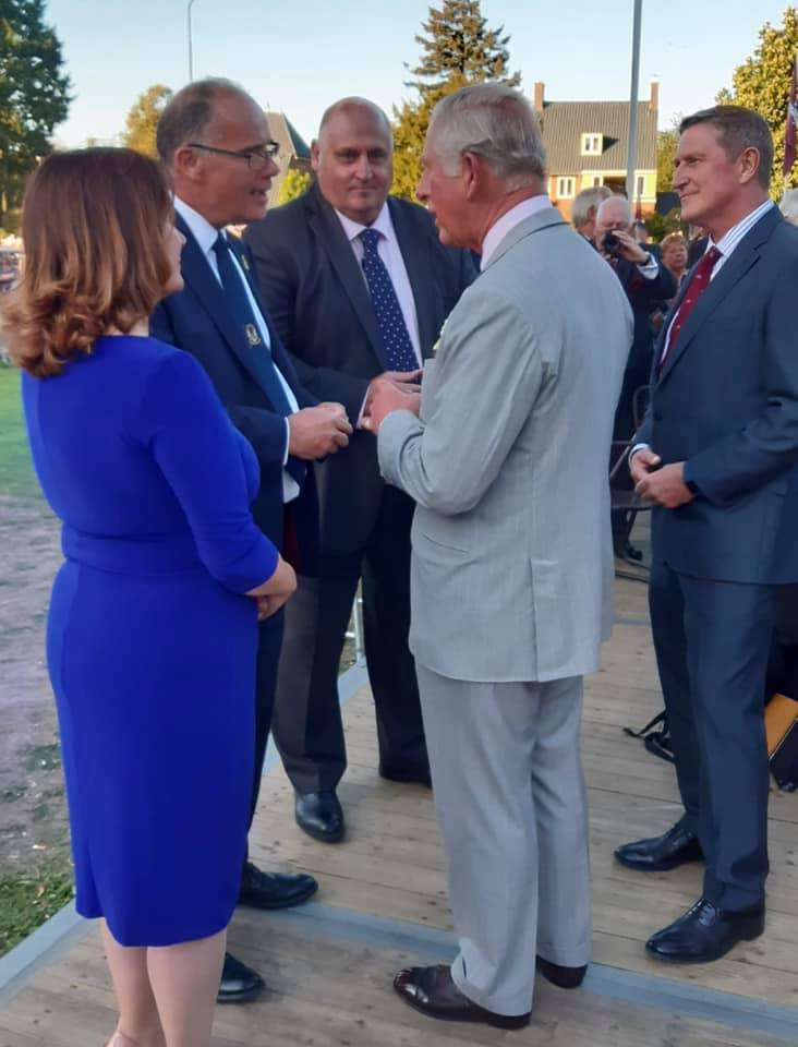 Taxi Charity meet HRH Prince Charles