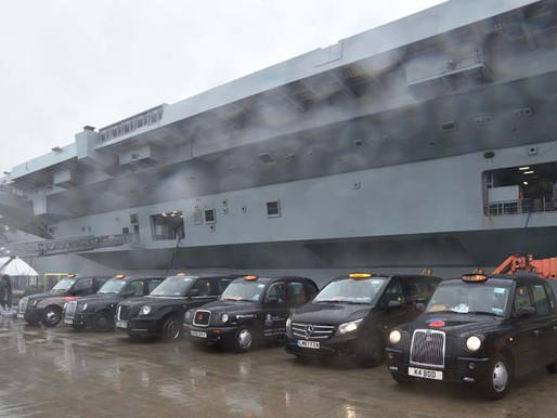 Photo Gallery: Navy veterans trip to HMS Queen Elizabeth