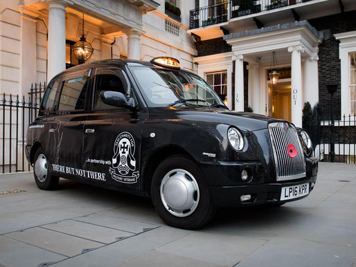 The Taxi Charity is proud to support There But Not There campaign