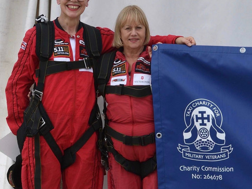 Press Release: Skydiving wives raise £7,000 for Taxi Charity