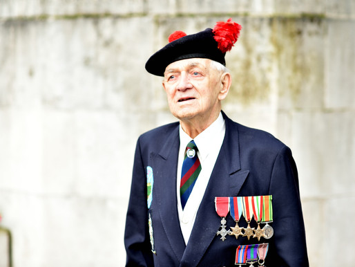 WWII veteran, John Clarke, interviewed on talkRADIO on Valentine's Day