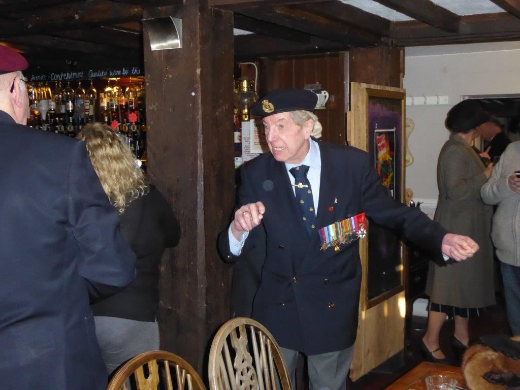Launch Event at The King's Arms, Keston