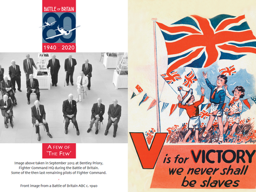 Taxi Charity sends out V for Victory cards to commemorate 80th anniversary of the Battle of Britain