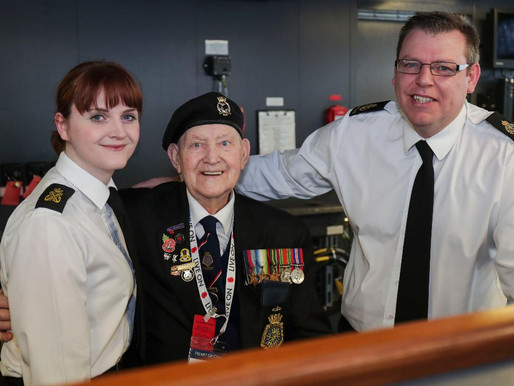 Taxi Charity thanks RNRMC for funding veterans trips to Portsmouth