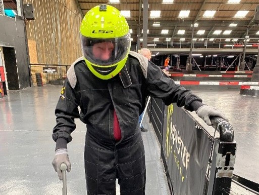 WWII veteran sets new go karting record at Capital Karts in Barking