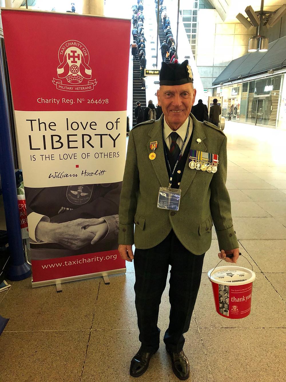War veteran Bill Parr