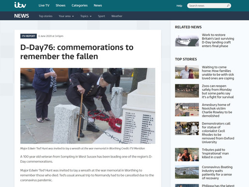 D-Day76: Commemorations to remember the fallen, ITV Meridien