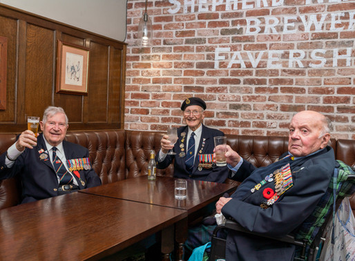 Taxi Charity escorts veterans to launch of the Knock & Check Campaign