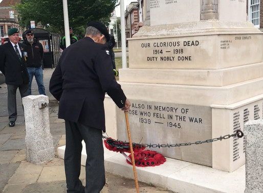 Major Ted Hunt and Ian Parsons interviewed on BBC Radio Sussex for D-Day