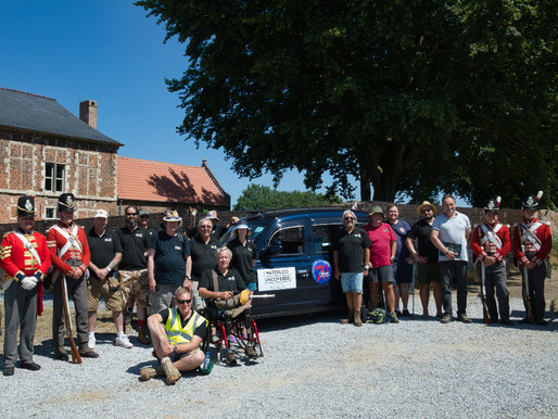 Taxi Charity to take veterans to Belgium for archaeological dig at Waterloo