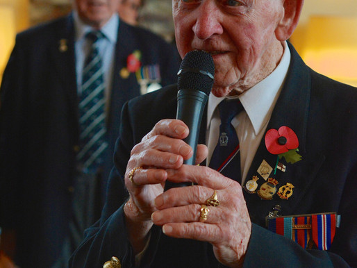 Danny McCrudden to sing at the Chalke Valley History Festival Victory Ball