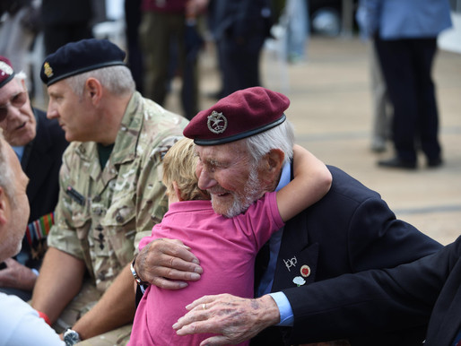 Taxi Charity attends 71st anniversary of the Airborne March