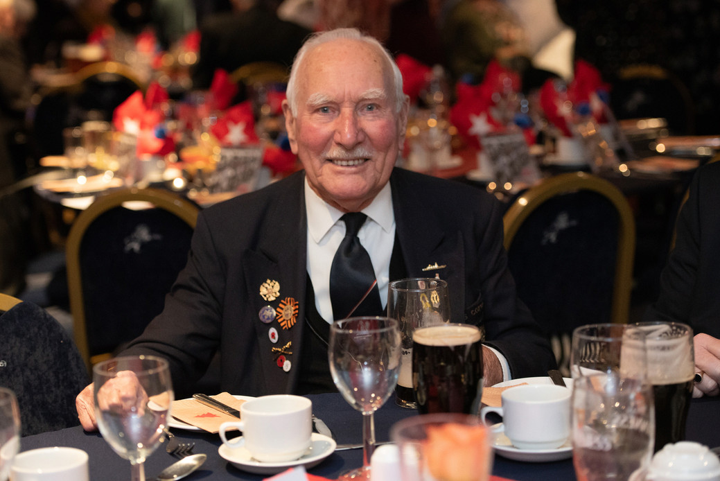 War veterans enjoy Christmas party at Millwall FC