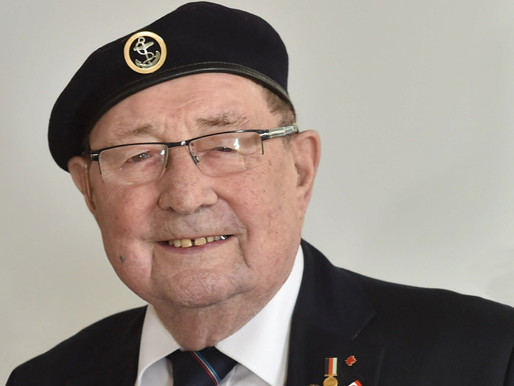 WWII veteran Fred Lee interviewed by BFBS