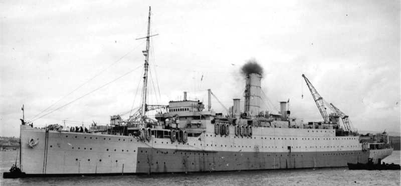 HMS Artifex, Royal Navy Heavy Repair Ship