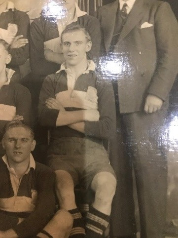 Harry Philp captained England in the army and knew Sir Alf Ramsey
