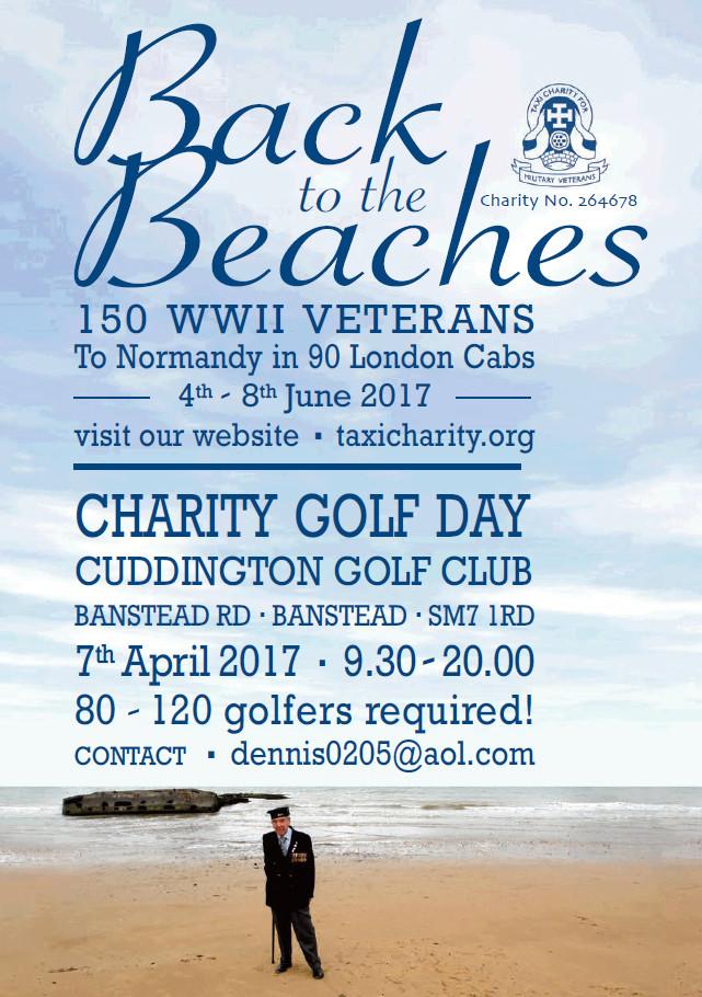 Charity Golf Day at Cuddington Golf Club