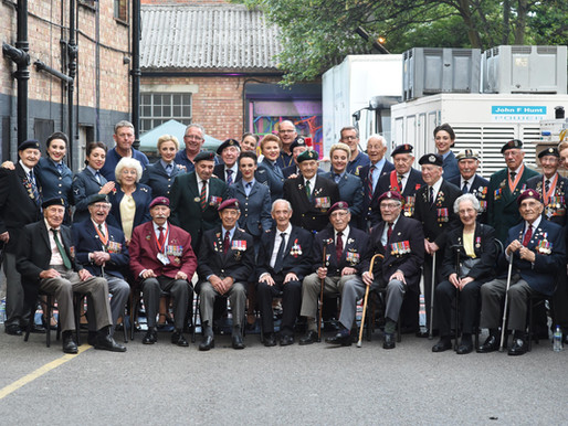 WWII war veterans support The D-Day Darlings on Britain's Got Talent!