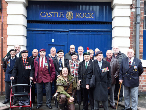 Taxi Charity invited to Castle Rock Brewery in Nottingham
