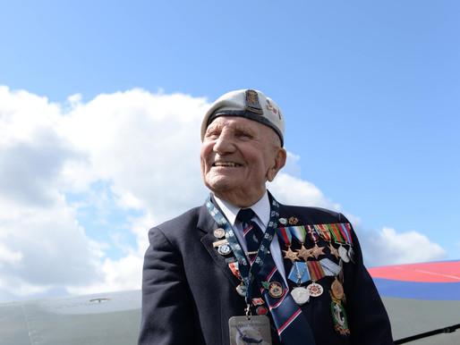 Veterans attend Festival of Flight at Biggin Hill Airshow