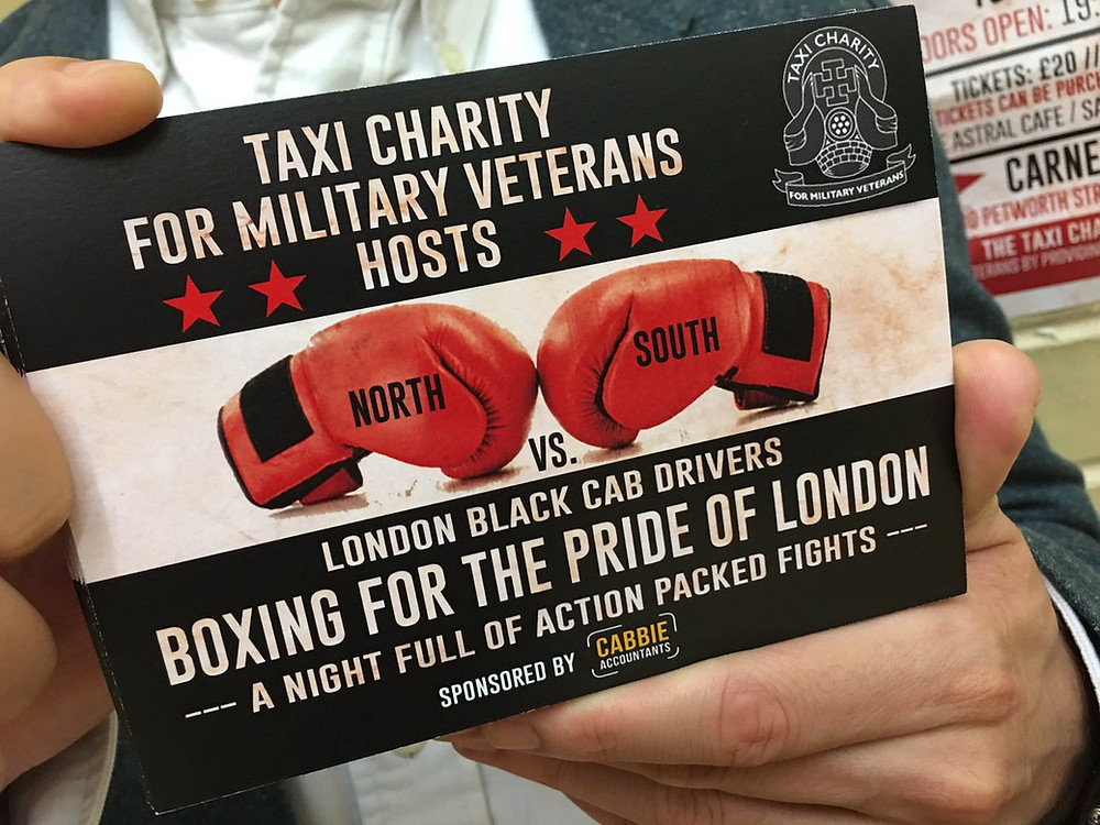 Taxi Charity Boxing Night