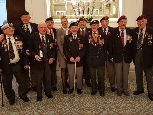 Collectors' lunch at RAF Club